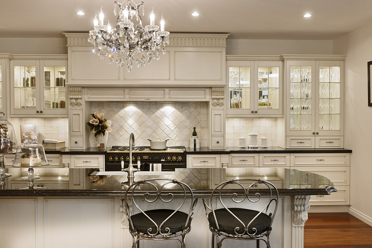 french country kitchen design photo - 3
