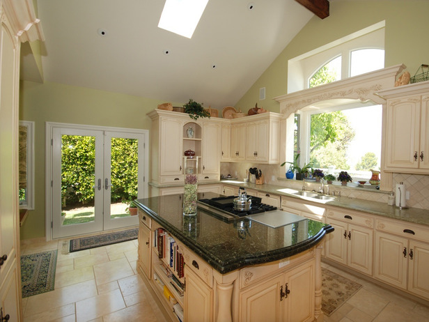 french country kitchen design photo - 5