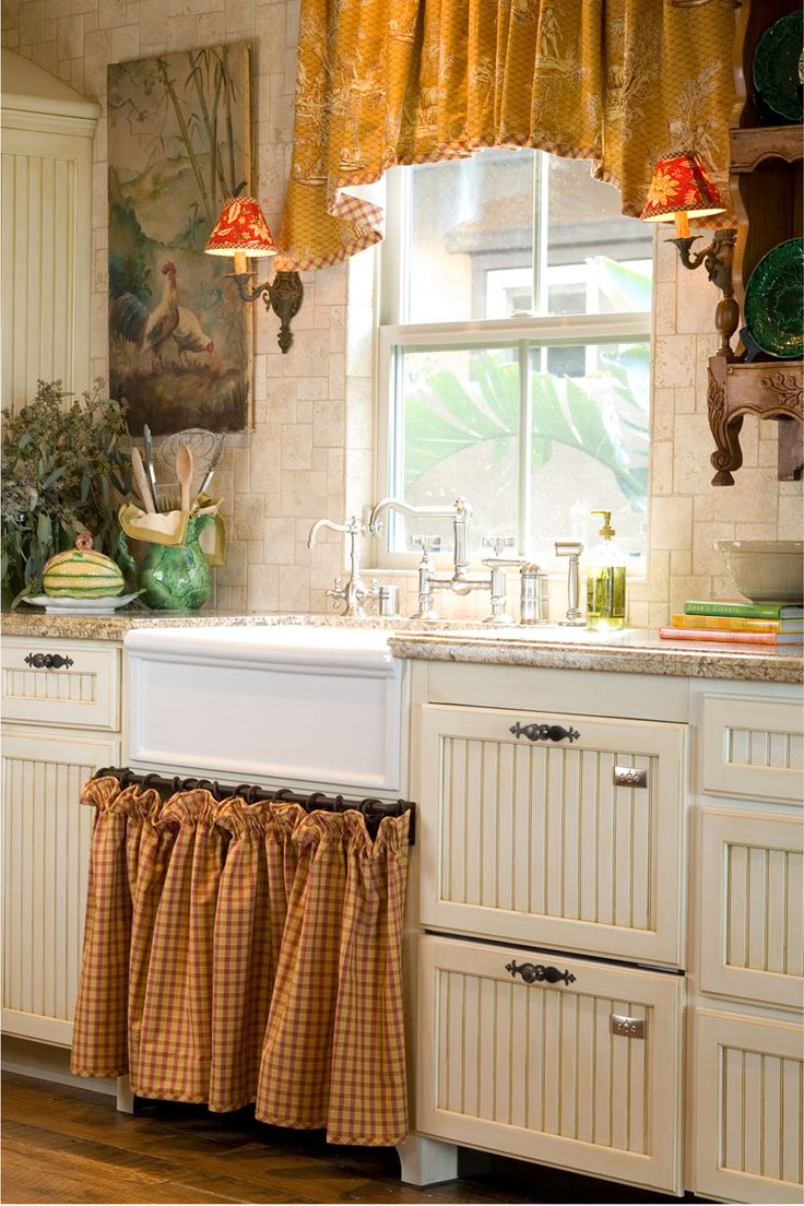 french country kitchen sinks photo - 6