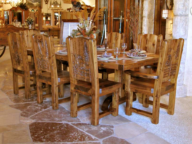 french country kitchen tables and chairs photo - 4