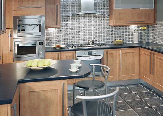 french country kitchen wall tiles photo - 6
