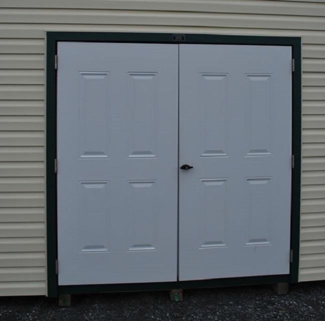french doors exterior steel photo - 3