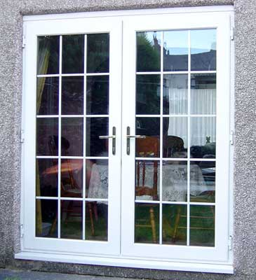 french doors exterior steel photo - 6
