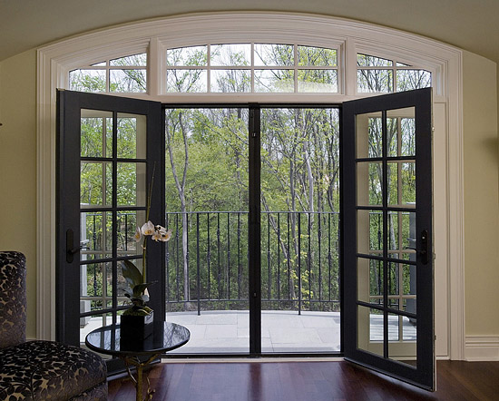 french doors exterior with screens photo - 2