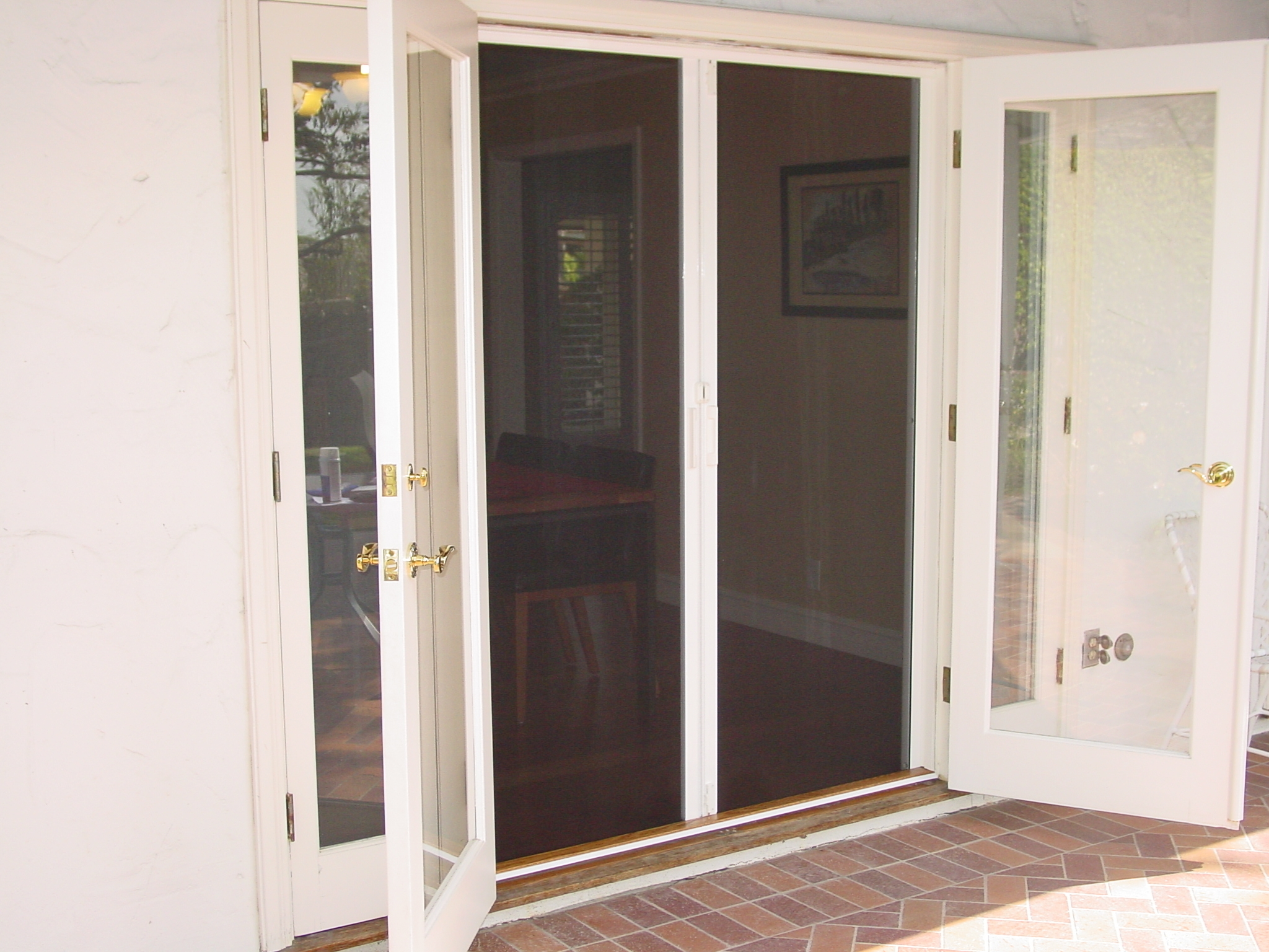 french doors exterior with screens photo - 5