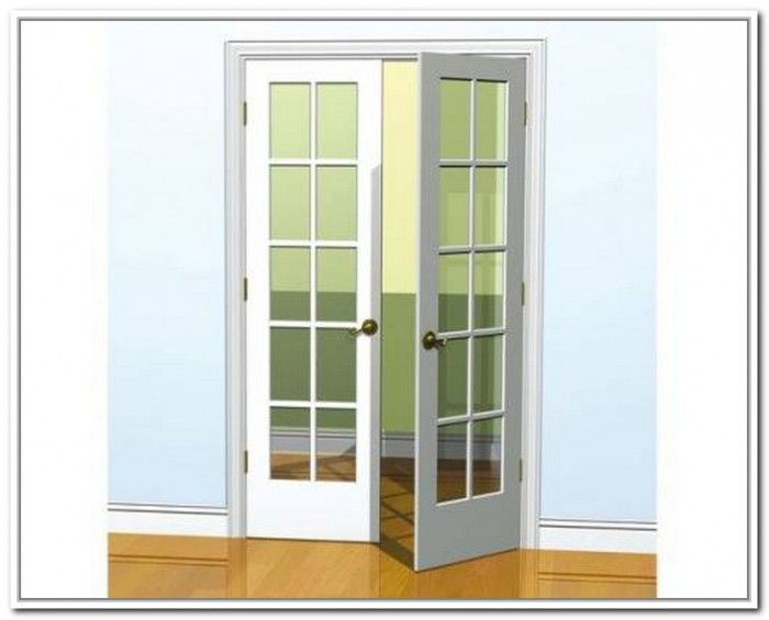 french doors interior 36 inches photo - 1