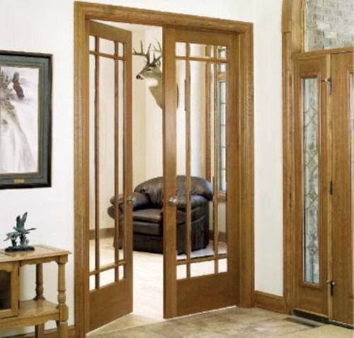 french doors interior 36 inches photo - 4