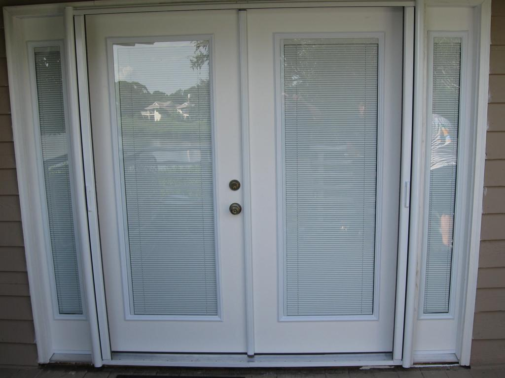 french doors interior blinds photo - 1
