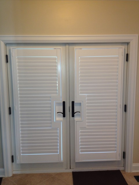 french doors interior blinds photo - 6
