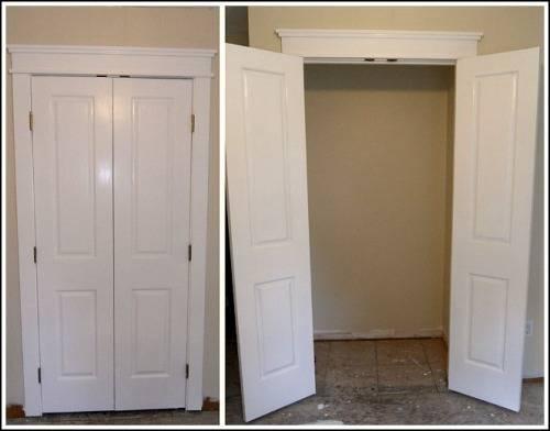french doors interior closet photo - 1