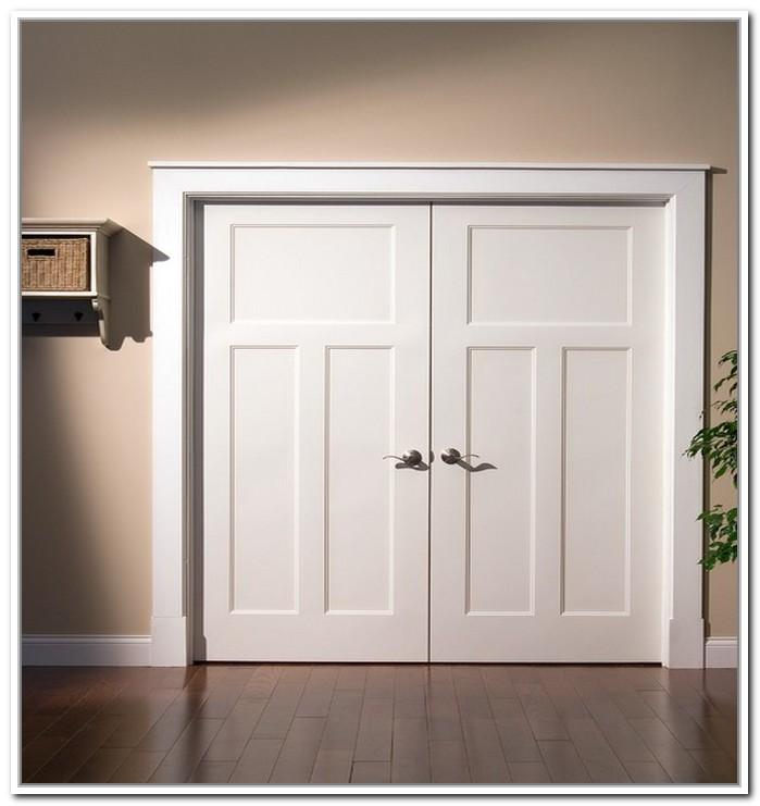 french doors interior closet photo - 2