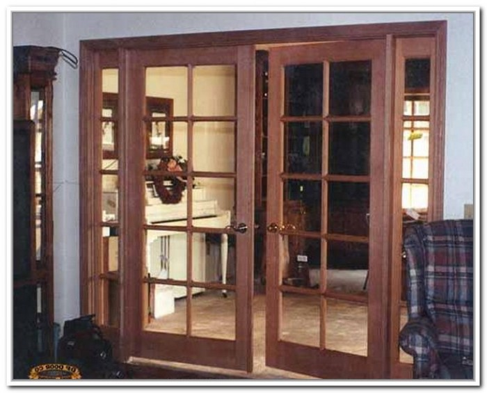 french doors interior dimensions photo - 3