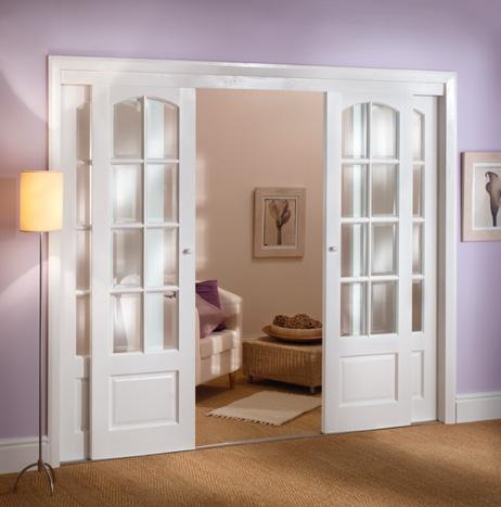 french doors interior sliding photo - 1