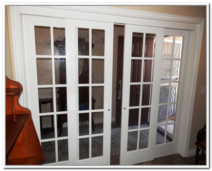 french doors interior sliding photo - 3