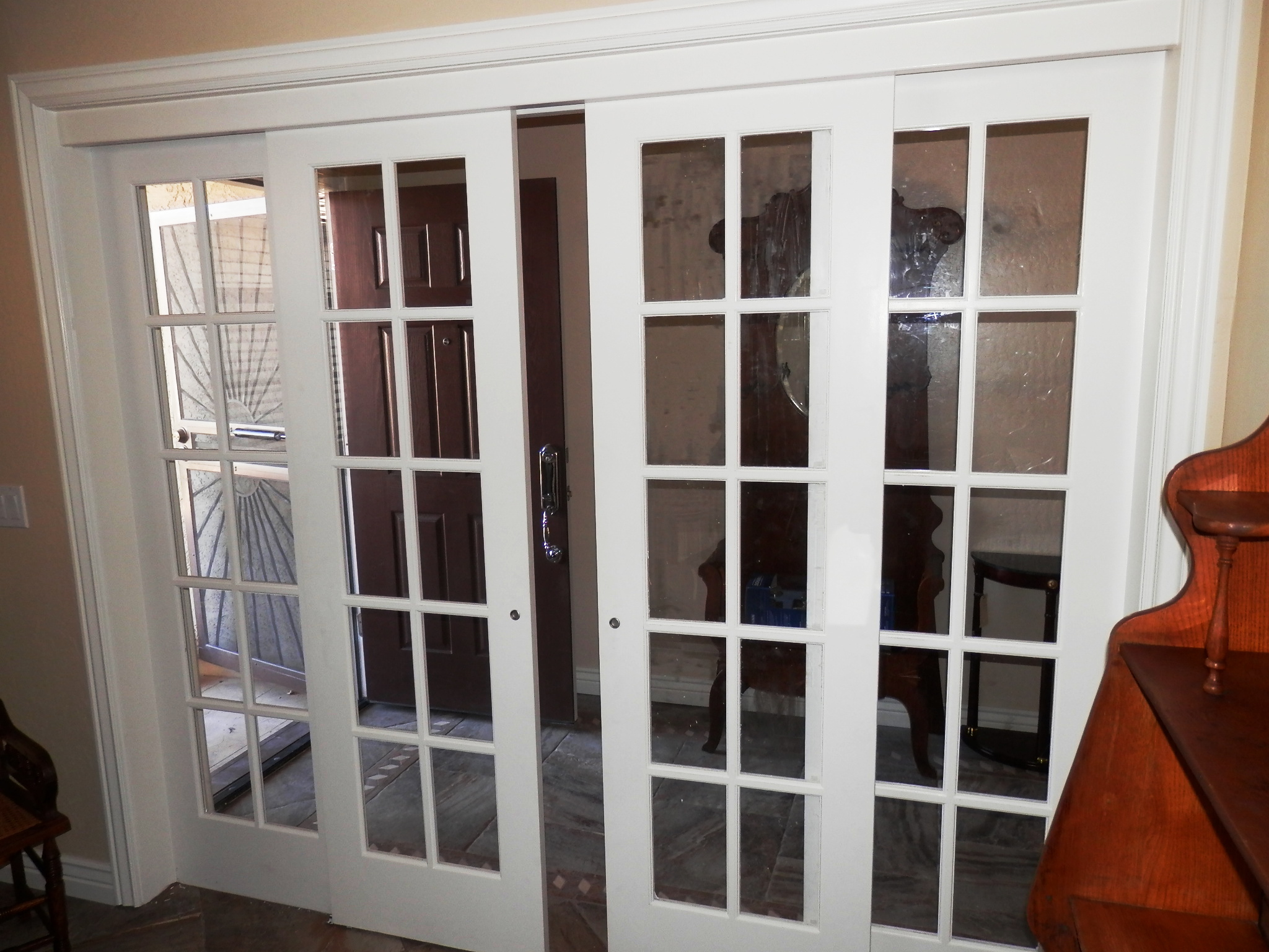 french doors interior sliding photo - 4