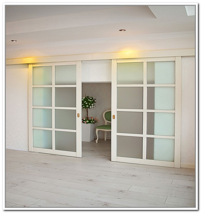 french doors interior sliding photo - 6