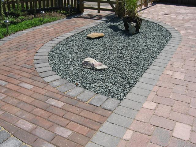 garden design ideas hard landscaping photo - 1