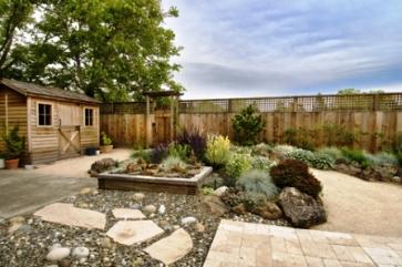 garden design ideas hard landscaping photo - 3