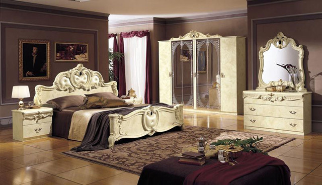 high end traditional bedroom furniture photo - 1