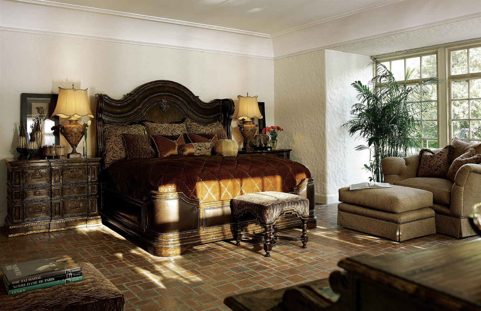 high end traditional bedroom furniture photo - 2