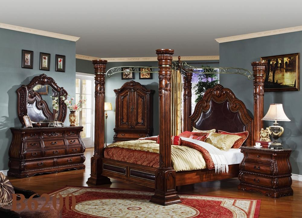 high end traditional bedroom furniture photo - 3