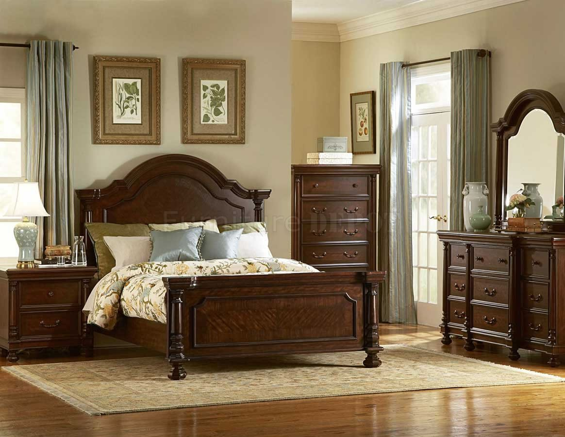high end traditional bedroom furniture photo - 5