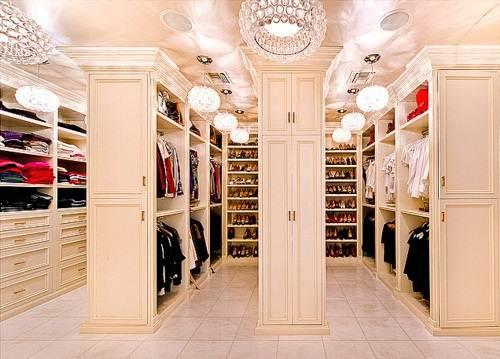 huge walk in closet house plans photo - 1