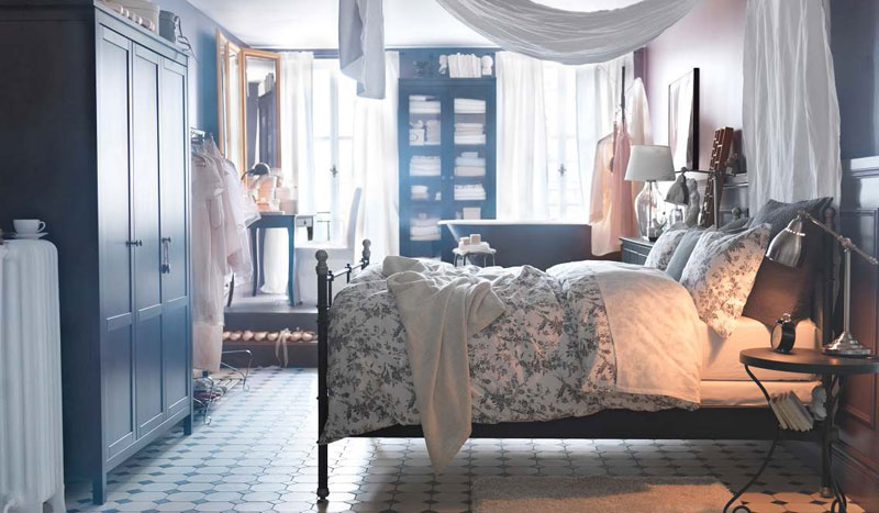 ikea hemnes bedroom furniture photo - 5