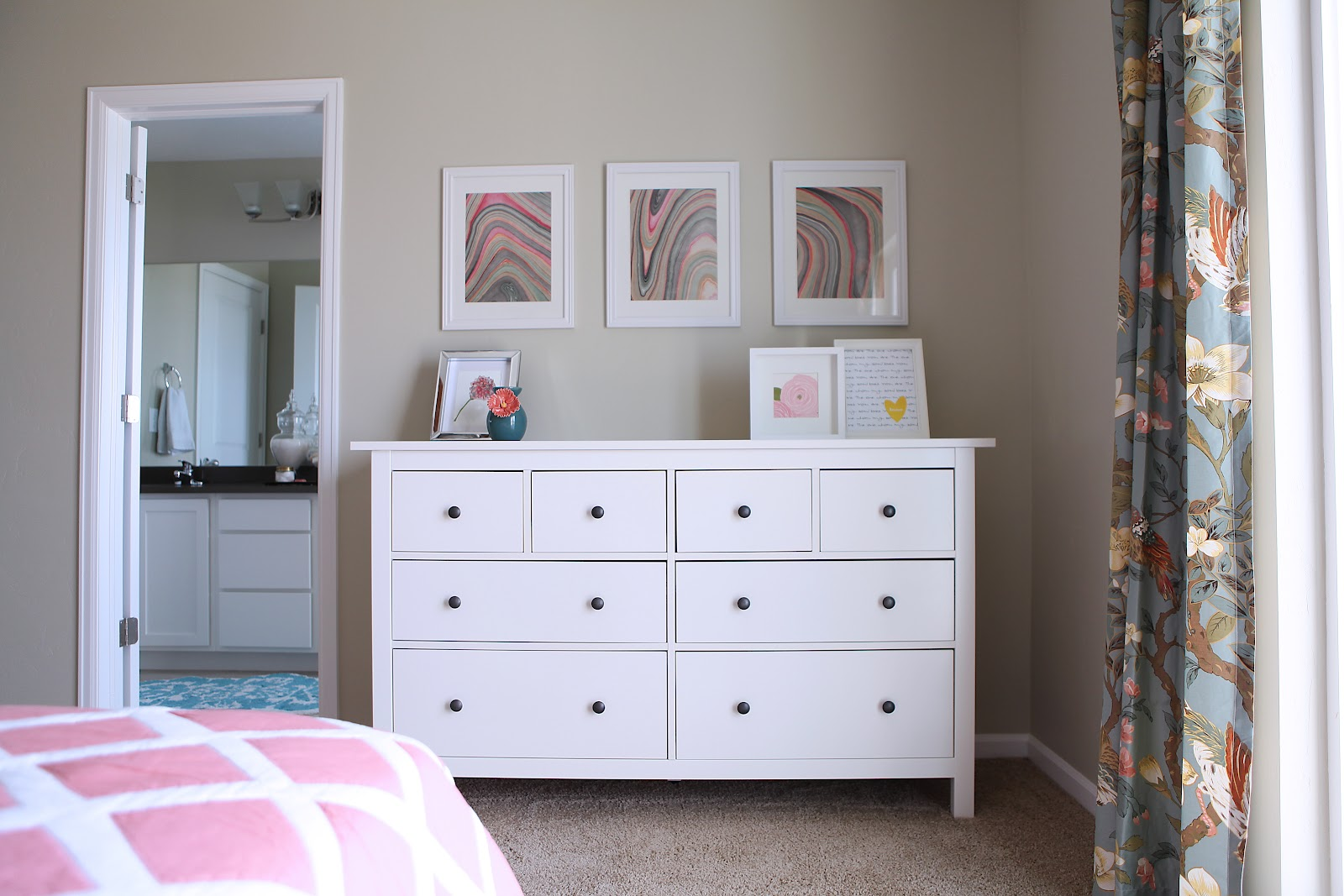 ikea white hemnes bedroom furniture photo - 3
