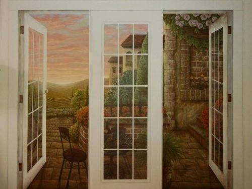 install french doors exterior wall photo - 1