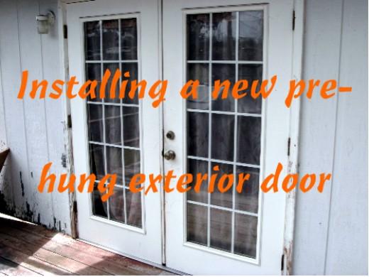 install french doors exterior wall photo - 3