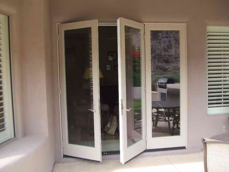 install french doors exterior wall photo - 4