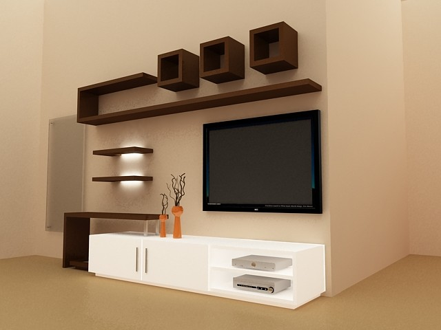 interior design ideas tv unit photo - 6