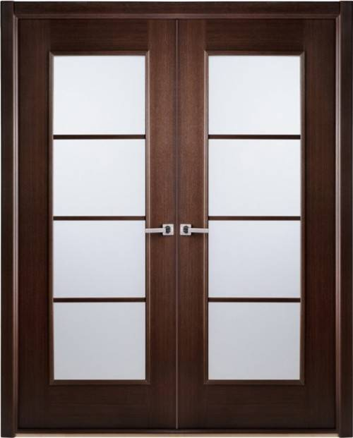 interior french doors frosted glass photo - 1