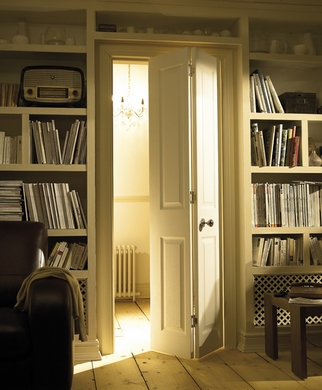 interior french doors without glass photo - 2