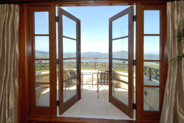 interior french doors without glass photo - 4