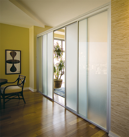 interior sliding doors room dividers photo - 2