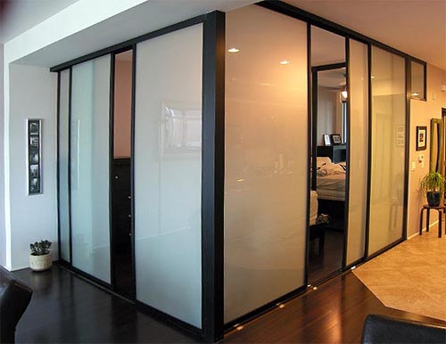 interior sliding doors room dividers photo - 3