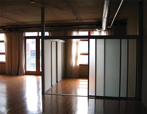 interior sliding doors room dividers photo - 4