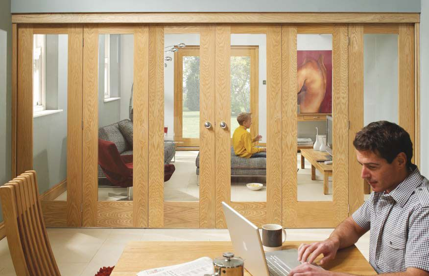 interior sliding doors room dividers photo - 5
