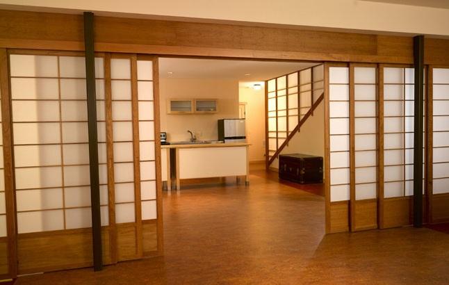 interior sliding doors room dividers photo - 6