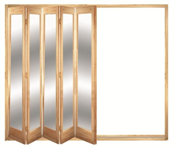 interior sliding folding doors photo - 4