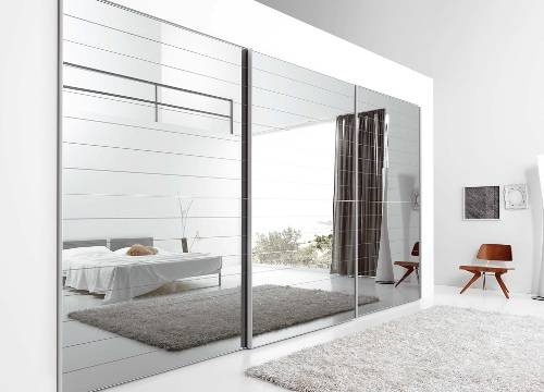 interior sliding mirror doors photo - 1