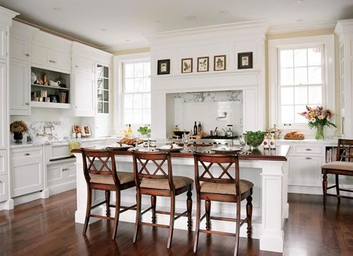 kitchen cabinet refacing ideas white photo - 3