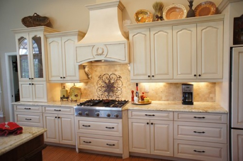 kitchen cabinet refacing ideas white photo - 4