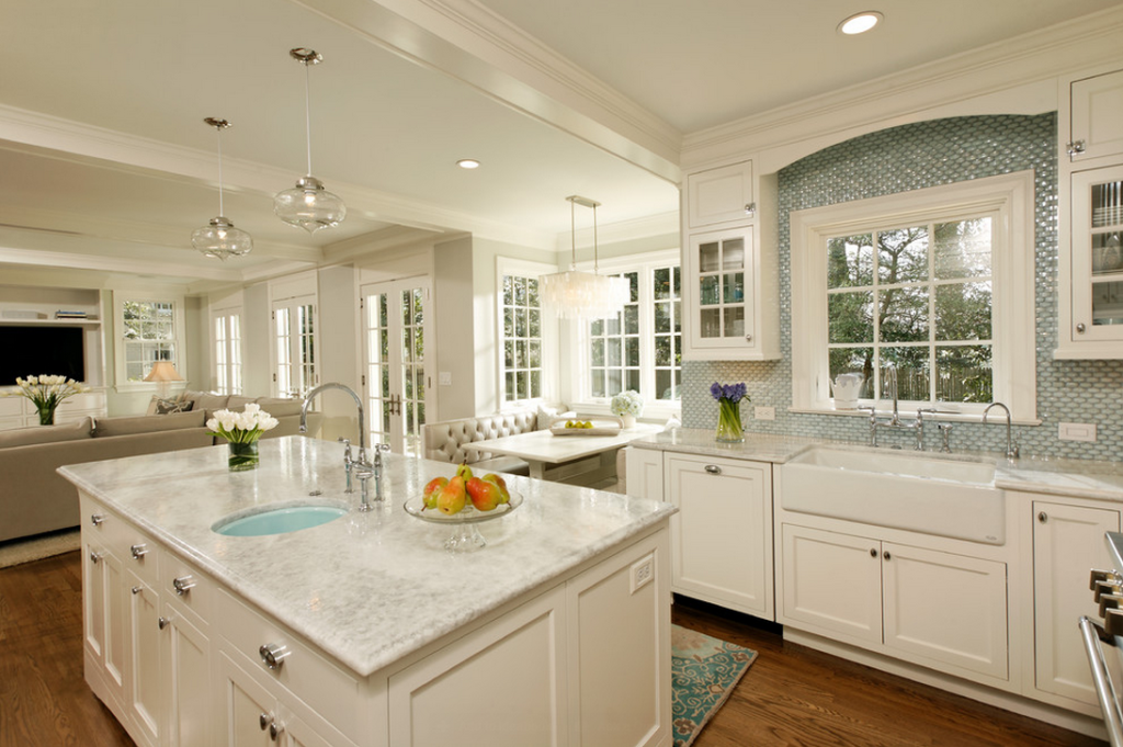 kitchen cabinet refacing ideas white photo - 5