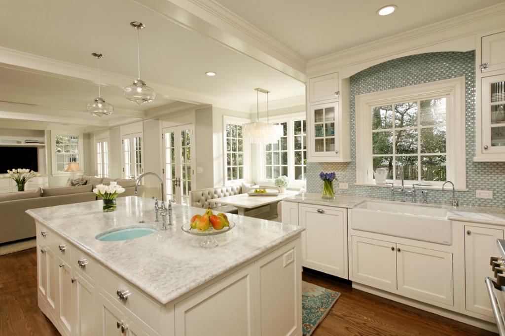 kitchen cabinet refacing ideas white photo - 5