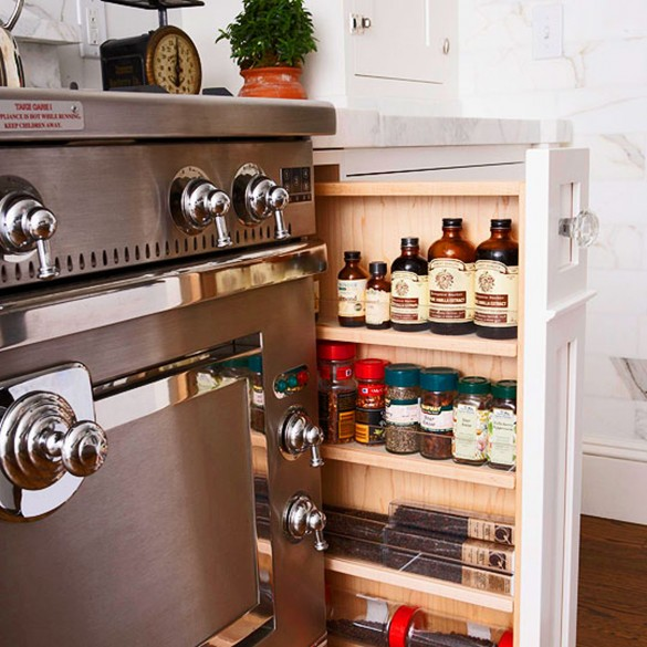 kitchen cabinets ideas for storage photo - 5