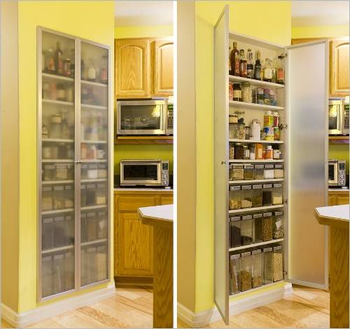 kitchen cabinets pantry ideas photo - 1