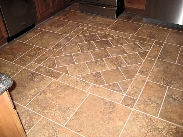 kitchen floor tile photo - 4